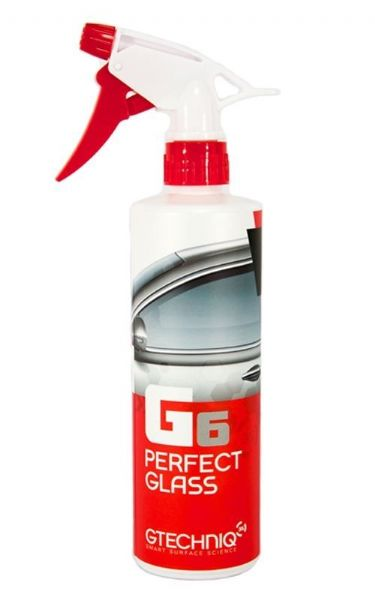 GTechniq G6 Perfect Glass Cleaner Spray 500ml Window Windscreen